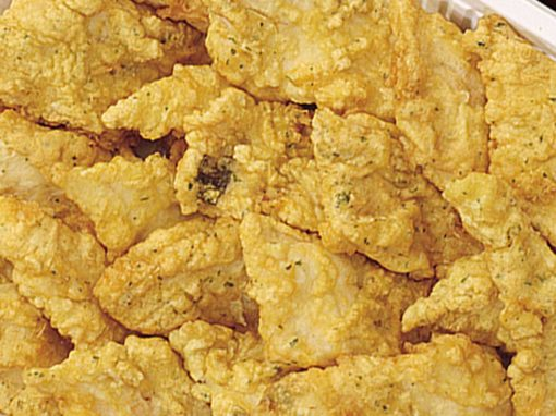 Filetti di merluzzo fritto