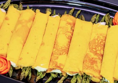 Omelette con asparagi